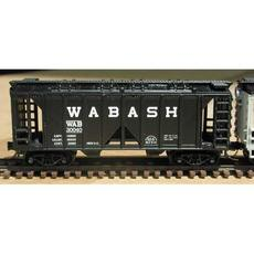N 2-Bay Rib Side Covered Hopper 3-Pack Wabash
