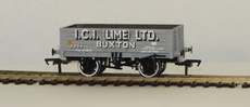 00 5 Plank Steel Floor Wagon I.C.I. (Lime) LTD