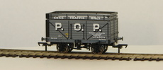 "00 7 Plank Wagon with Coke Rail ""P.O.P.\"""