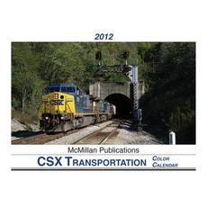 Color Calendar 2012 CSX Transportation