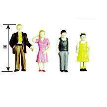 G Figuren - Plastic Family Figures