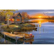 Puzzle - 500 Teile - Abend am See
