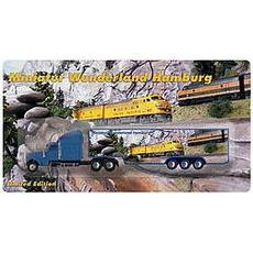 H0 Kenworth Koffersattelzug Union Pacific