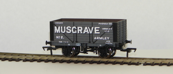 00 8 Plank Wagon Henery Musgrave