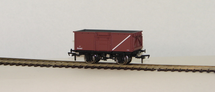 00 16 Ton Steel Mineral Wagon BR bauxite with Top Flap Doors