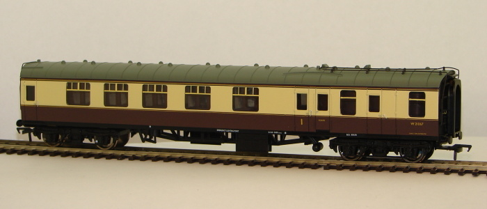 00 BR MK1 Brake/Corridor Composite BCK Chocolate/Vream