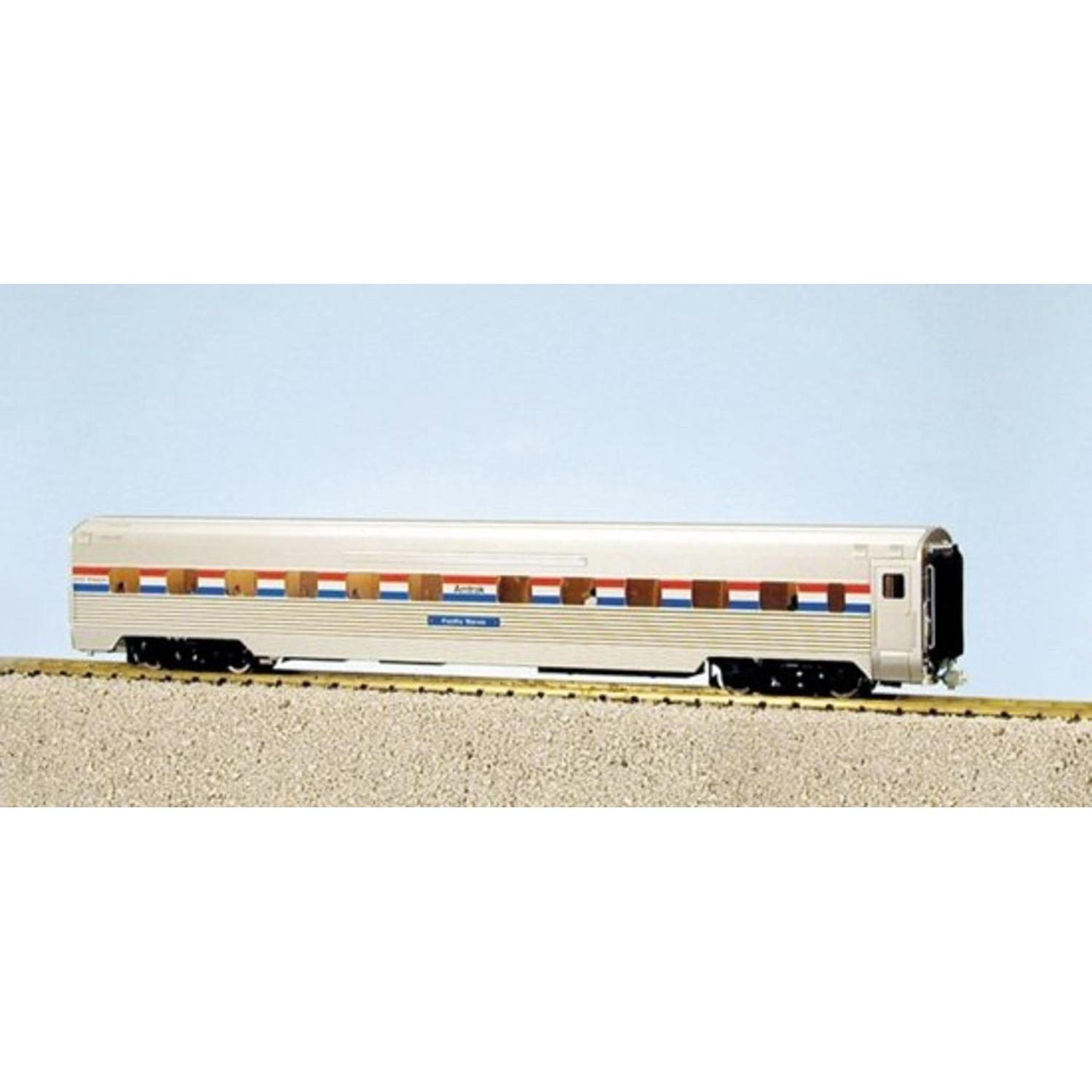 G Corrugated Aluminum Sleeper Lighted Amtrak #1