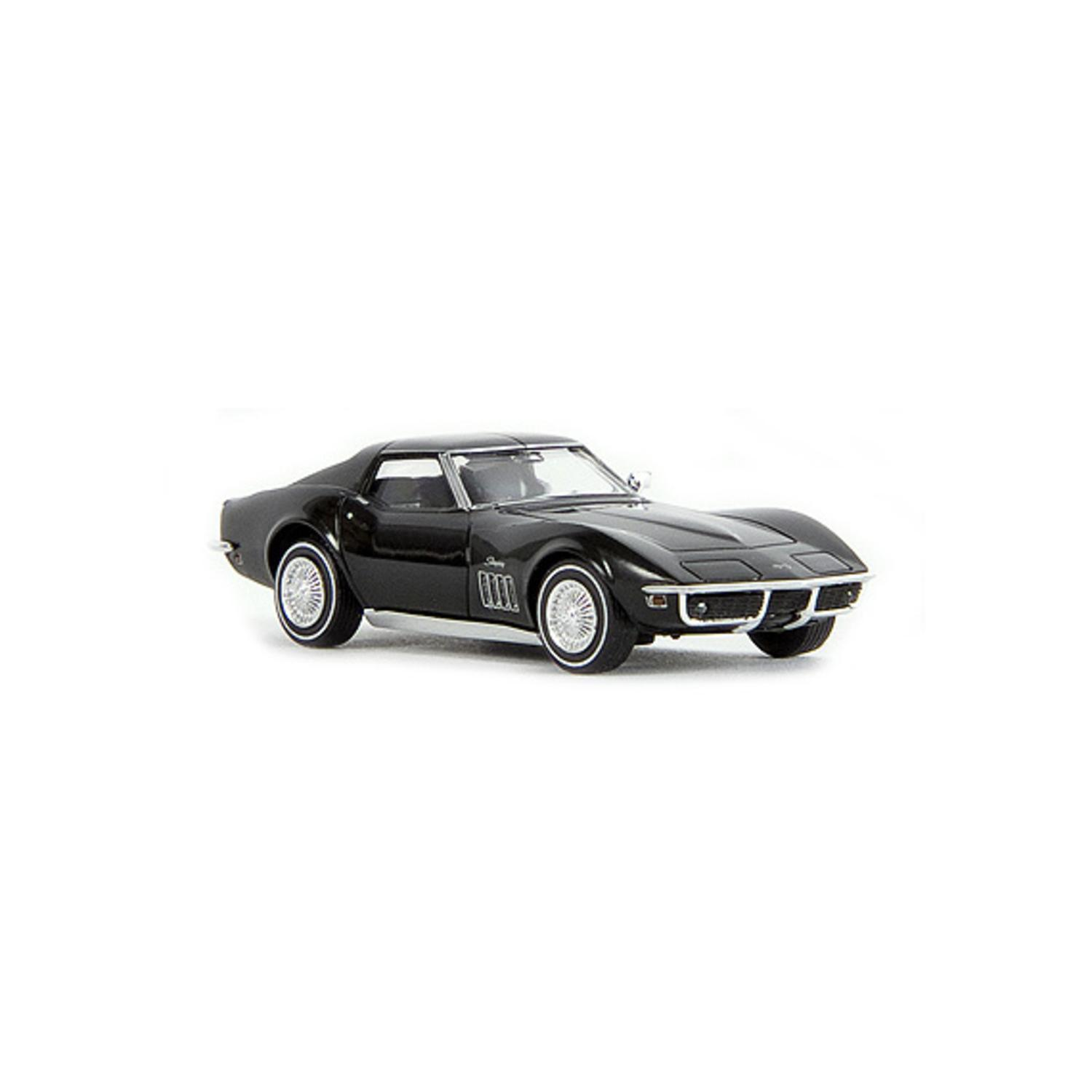 H0 Chevrolet Corvette C3 Stingray schwarz