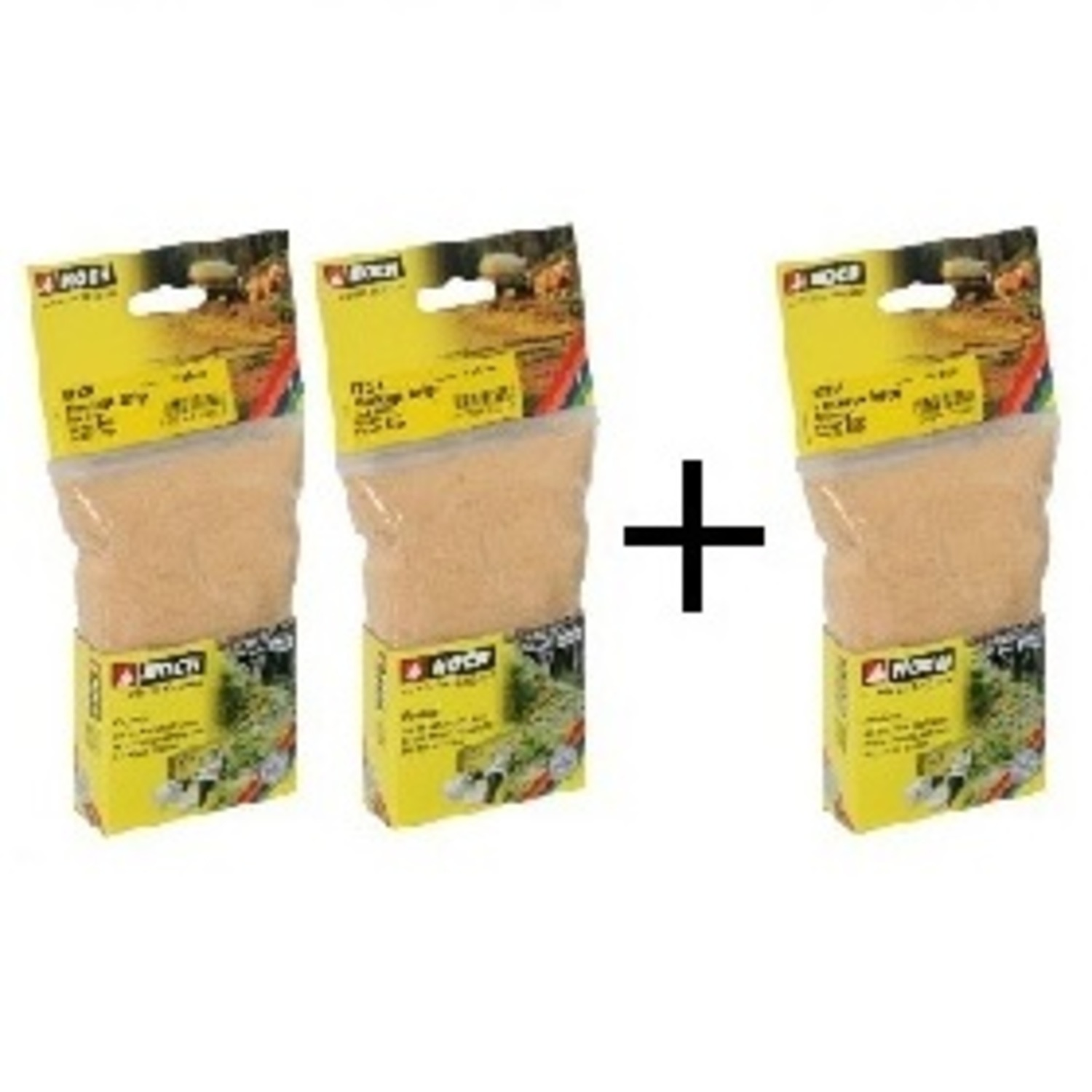 AKTION 2+1 gratis  Flockage, beige