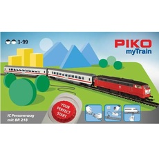 H0 PIKO myTrain® Start-Set IC Zug