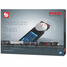 H0 PIKO digital SmartControl® Premium Train Set Vectron Güterz