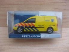 H0 VW Caddy Maxi Ambulance Rotte