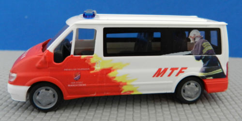 H0 Ford Transit Feuerwehr Marchtrenk OÖ