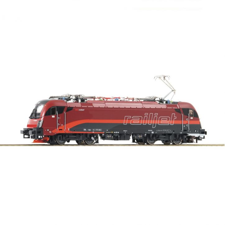 "H0 Elektrolokomotive 1216 017-4 ""Railjet\"", ÖBB digital mit Sound"