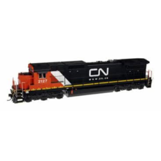 H0 Canadian National #2120 (black, white, red)
