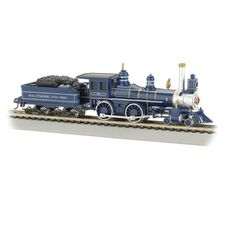 H0 4-4-0 American - Standard DC -- Baltimore & Ohio (Royal Blue,