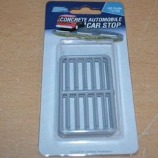 H0 Concrete Automobile Stop -- pkg(20)