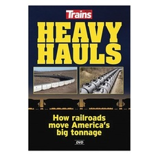 DVD Heavy Hauls DVD -- How Railroads Move America\'s Big Tonnage