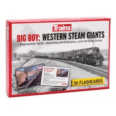 Karten; Big Boy: Western Steam Giants Flashcards -- 36 Cards