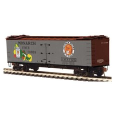 H0 R40-2 Wood Reefer - Ready to Run -- Monarch 14292