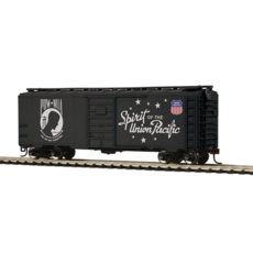 H0 40\' PS-1 Boxcar - Ready to Run -- Union Pacific (POW-MIA Commemorative)