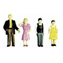 0 Figuren - Plastic Family Figures