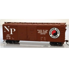 H0 40\' Double-Door Boxcar - Kit -- Northern Pacific #8510