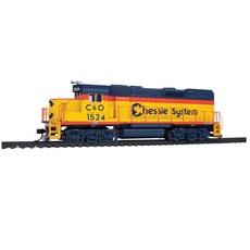 H0 EMD GP15-1 - SoundTraxx(R) Sound & DCC -- Chessie System