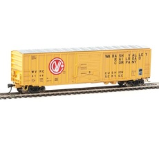 H0 50\' ACF Exterior-Post Boxcar - Ready to Run -- Wabash Valley