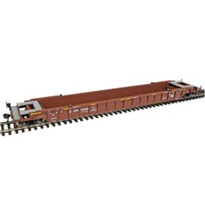 H0 53\' 3-Unit NSC Well Car - Ready to Run -- Grand Trunk Western CN #676068 3er Set
