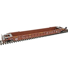 H0 53\' 3-Unit NSC Well Car - Ready to Run -- Grand Trunk Western CN #676074 3er Set