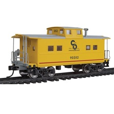 H0 NE-Style Center Cupola Caboose - Ready to Run -- Chesapeake &