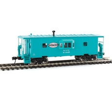 H0 International Bay Window Caboose - Ready to Run -- New York C
