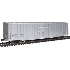H0 60\' Gunderson Express Boxcar - Ready To Run -- Amtrak #71033