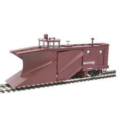 H0 Russell Snowplow - Ready to Run Burlington Northern #97258