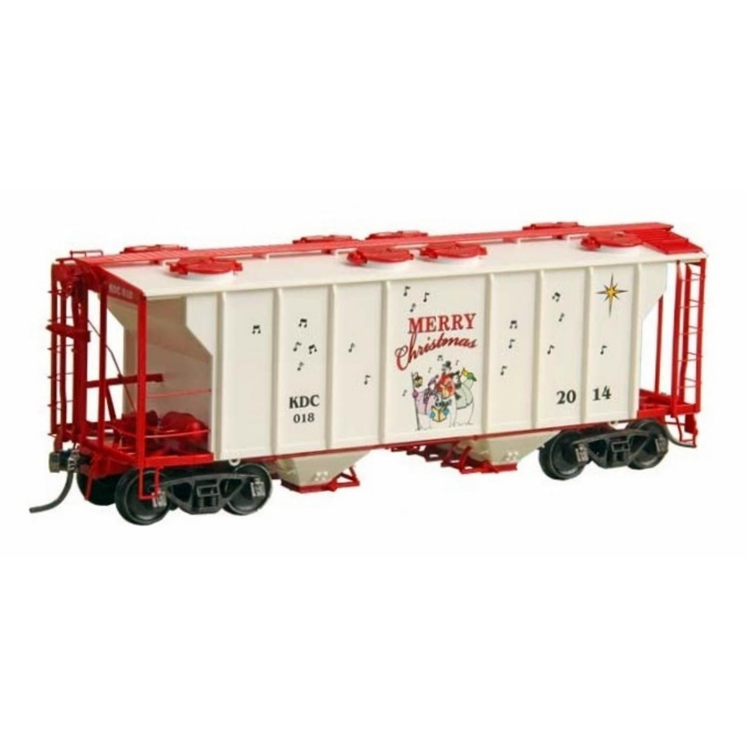 H0 PS-2 2-Bay Covered Hopper - Ready to Run