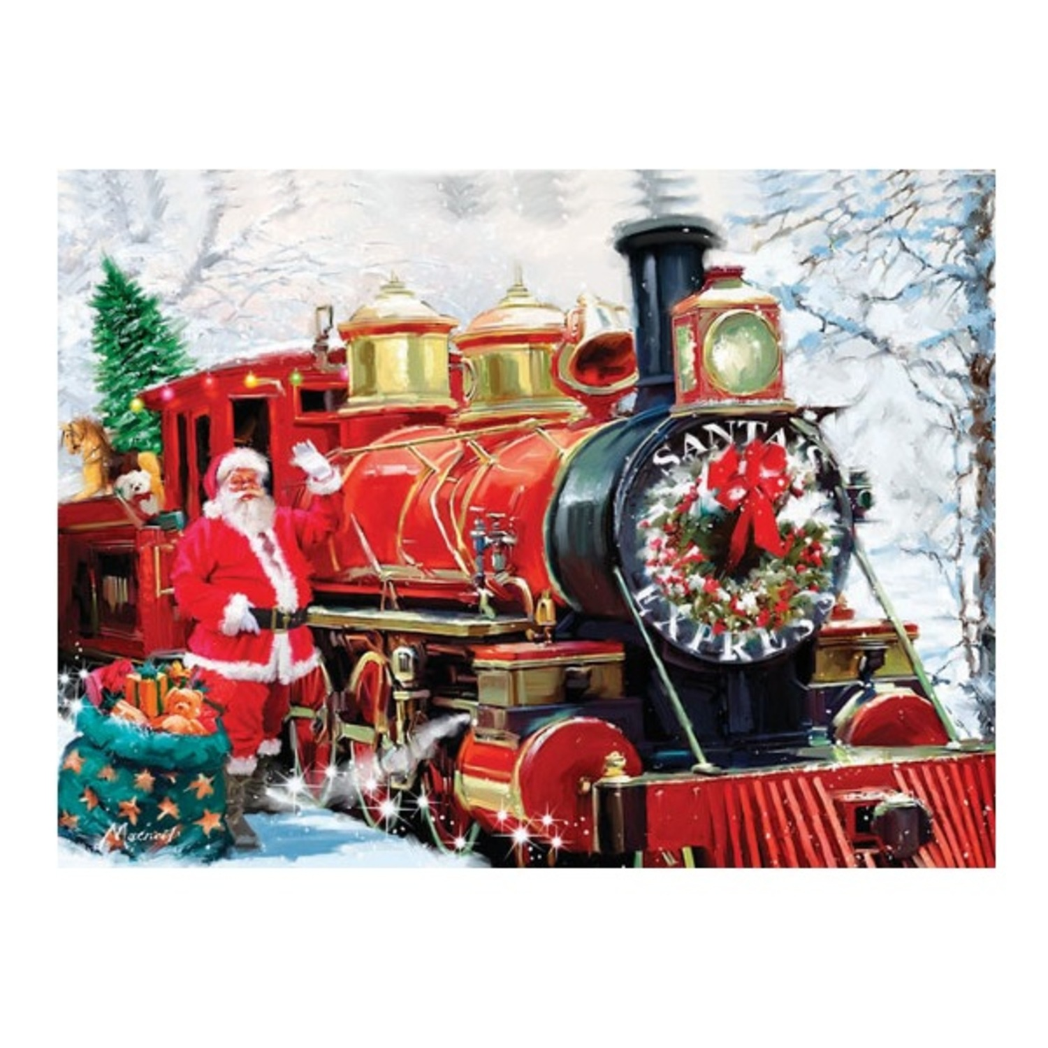 Christmas Express Puzzle -- 1000 Pieces