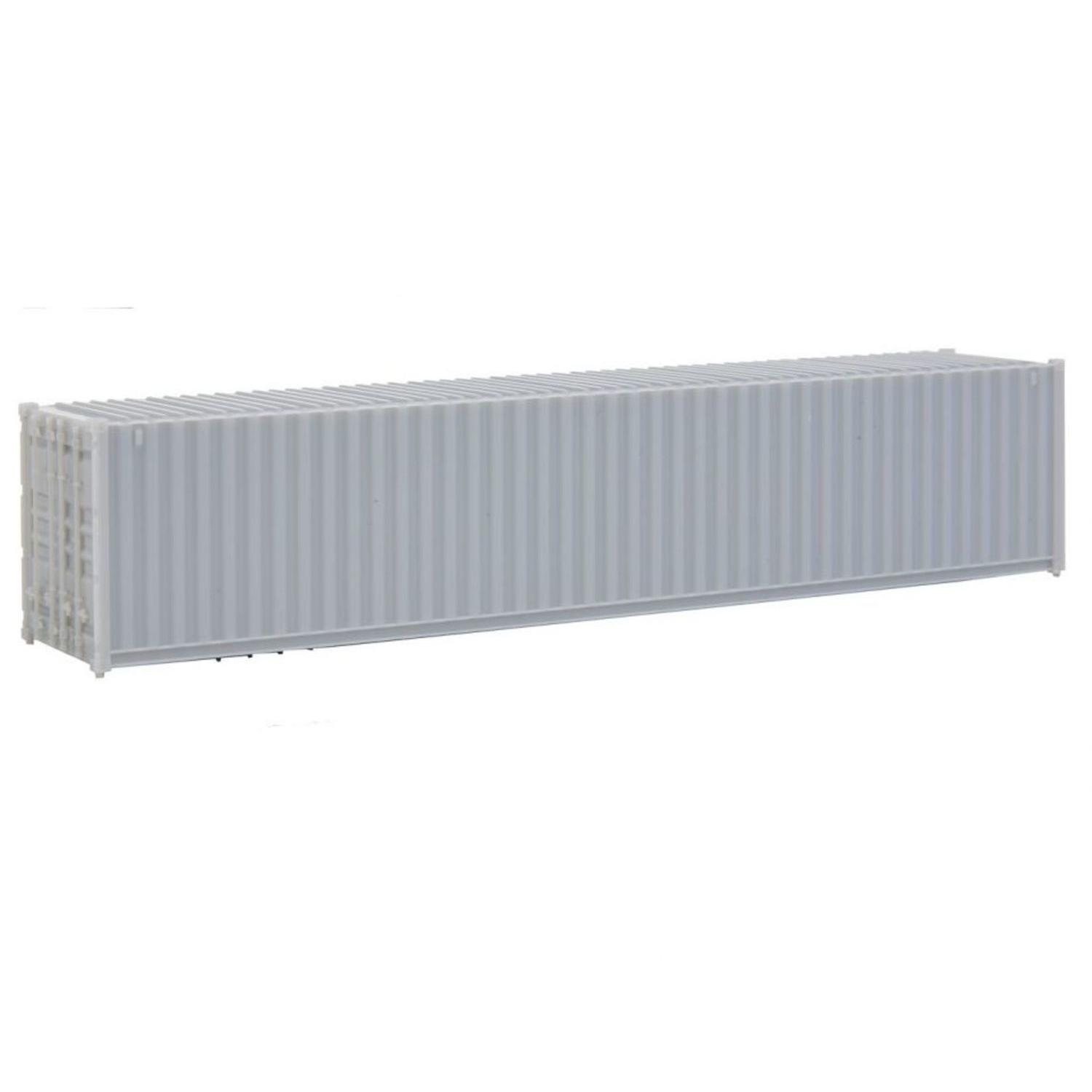 H0 Fertigmodell 40\' Corrugated-Side Container - Assembled -- Und